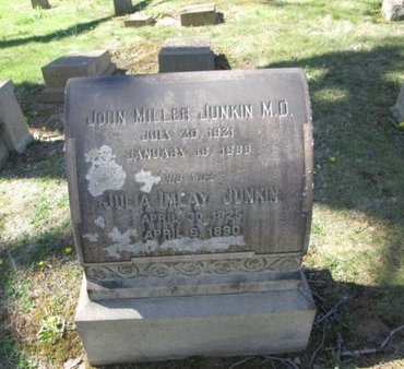 JUNKIN (CW), JOHN MILLER - Northampton County, Pennsylvania   JOHN MILLER JUNKIN (CW) - Pennsylvania Gravestone Photos