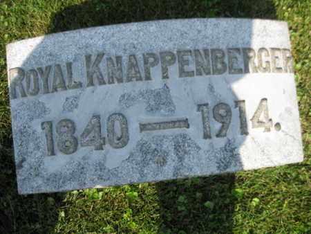 KAPPENBERGER, ROYAL - Northampton County, Pennsylvania | ROYAL KAPPENBERGER - Pennsylvania Gravestone Photos