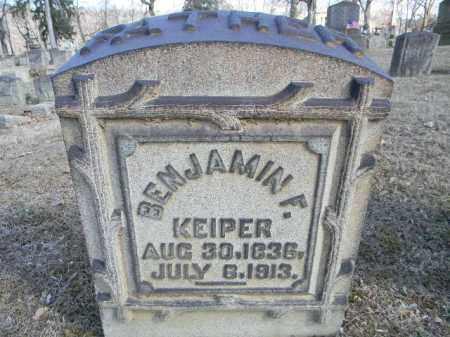 KEIPER, BENJAMIN F. - Northampton County, Pennsylvania | BENJAMIN F. KEIPER - Pennsylvania Gravestone Photos