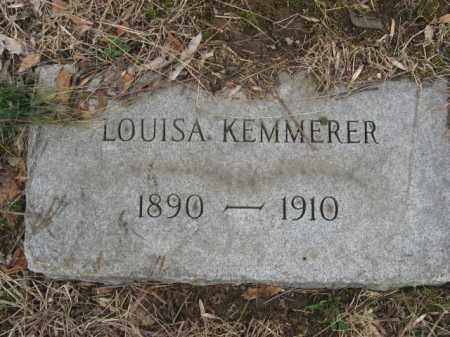 KEMMERER, LOUISA - Northampton County, Pennsylvania | LOUISA KEMMERER - Pennsylvania Gravestone Photos