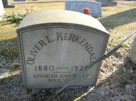 KERKENDALL (SAW), OLIVER L. - Northampton County, Pennsylvania   OLIVER L. KERKENDALL (SAW) - Pennsylvania Gravestone Photos