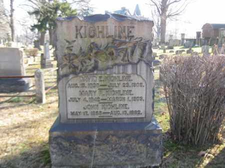 KICHLINE (CW), DAVID E. - Northampton County, Pennsylvania | DAVID E. KICHLINE (CW) - Pennsylvania Gravestone Photos