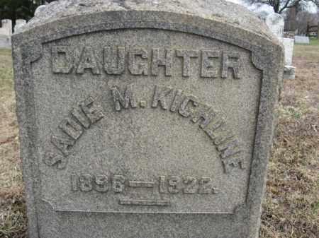 KICHLINE, SADIE M. - Northampton County, Pennsylvania | SADIE M. KICHLINE - Pennsylvania Gravestone Photos