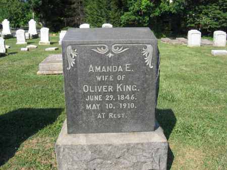 KING, AMANDA  E - Northampton County, Pennsylvania   AMANDA  E KING - Pennsylvania Gravestone Photos