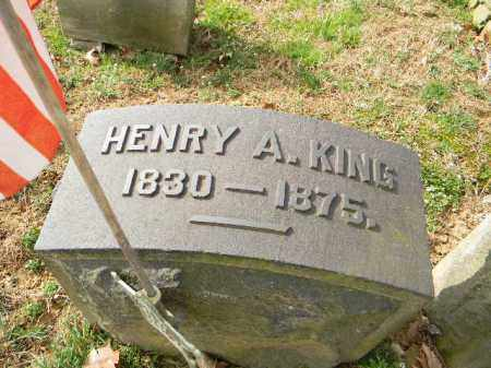 KING, HENRY A. - Northampton County, Pennsylvania | HENRY A. KING - Pennsylvania Gravestone Photos