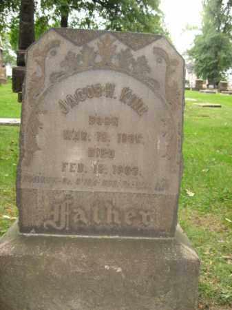KING (CW), JACOB H. - Northampton County, Pennsylvania | JACOB H. KING (CW) - Pennsylvania Gravestone Photos