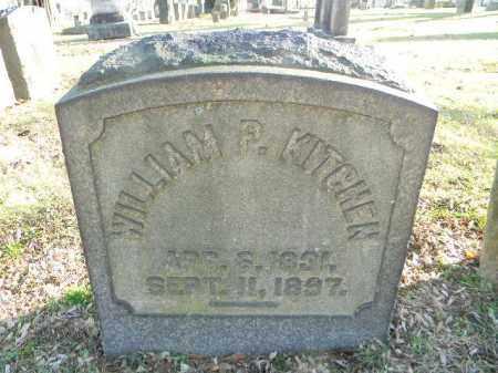 KITCHEN, WILLIAM P. - Northampton County, Pennsylvania | WILLIAM P. KITCHEN - Pennsylvania Gravestone Photos