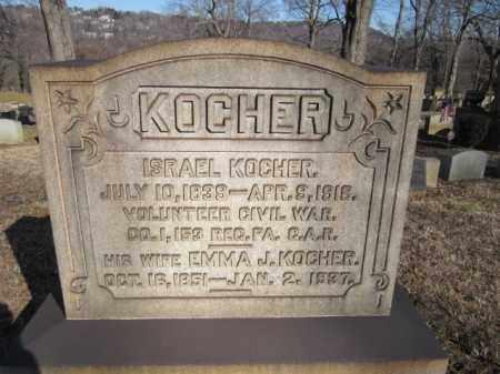 KOCHER, EMMA J. - Northampton County, Pennsylvania   EMMA J. KOCHER - Pennsylvania Gravestone Photos