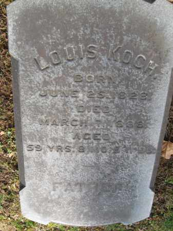 KOCH, LOUIS - Northampton County, Pennsylvania   LOUIS KOCH - Pennsylvania Gravestone Photos