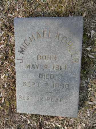 KOHLER, J. MICHAEL - Northampton County, Pennsylvania   J. MICHAEL KOHLER - Pennsylvania Gravestone Photos