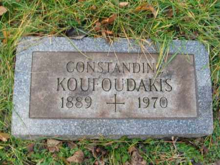 KOUFOUDAKIS, CONSTINTINE - Northampton County, Pennsylvania | CONSTINTINE KOUFOUDAKIS - Pennsylvania Gravestone Photos