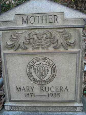 KUCERA, MARY - Northampton County, Pennsylvania   MARY KUCERA - Pennsylvania Gravestone Photos