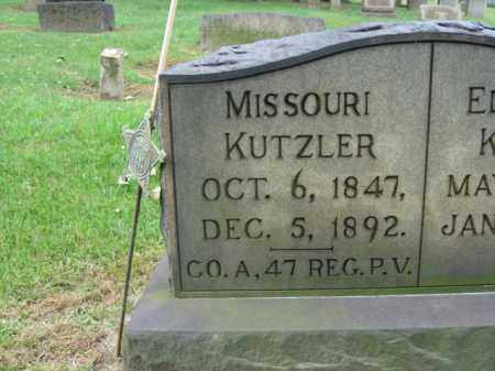 KUTZLER, MISSOURI - Northampton County, Pennsylvania | MISSOURI KUTZLER - Pennsylvania Gravestone Photos