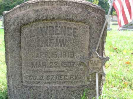 LAFAW, LAWRENCE - Northampton County, Pennsylvania   LAWRENCE LAFAW - Pennsylvania Gravestone Photos