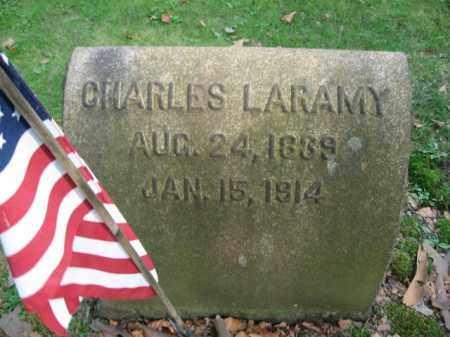 LARAMY (CW), CHARLES - Northampton County, Pennsylvania | CHARLES LARAMY (CW) - Pennsylvania Gravestone Photos