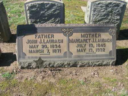 LAUBACH, MARGARET J. - Northampton County, Pennsylvania   MARGARET J. LAUBACH - Pennsylvania Gravestone Photos