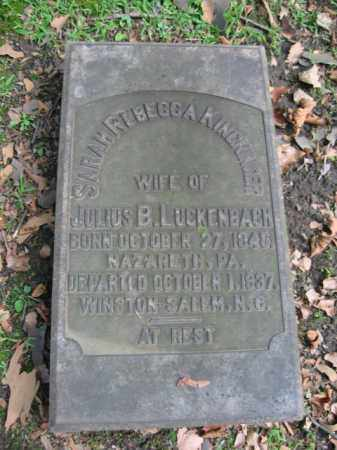 KINCKINGER LAUCKENBACH, SARAH REBECCA - Northampton County, Pennsylvania | SARAH REBECCA KINCKINGER LAUCKENBACH - Pennsylvania Gravestone Photos