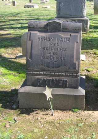 LAUX (CW), HENRY - Northampton County, Pennsylvania | HENRY LAUX (CW) - Pennsylvania Gravestone Photos