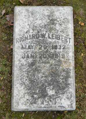 LEIBERT, RICHARD W. - Northampton County, Pennsylvania | RICHARD W. LEIBERT - Pennsylvania Gravestone Photos