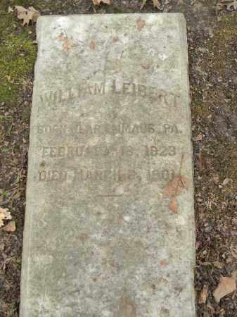 LEIBERT, WILLIAM - Northampton County, Pennsylvania | WILLIAM LEIBERT - Pennsylvania Gravestone Photos