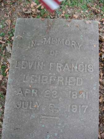 LEIBFRIED (CW), LEVIN FRANCIS - Northampton County, Pennsylvania   LEVIN FRANCIS LEIBFRIED (CW) - Pennsylvania Gravestone Photos