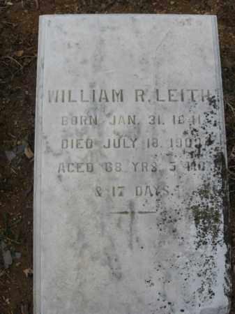 LEITH, WILLIAM R. - Northampton County, Pennsylvania | WILLIAM R. LEITH - Pennsylvania Gravestone Photos