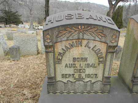 LODER (CW), BENJAMIN A. - Northampton County, Pennsylvania | BENJAMIN A. LODER (CW) - Pennsylvania Gravestone Photos