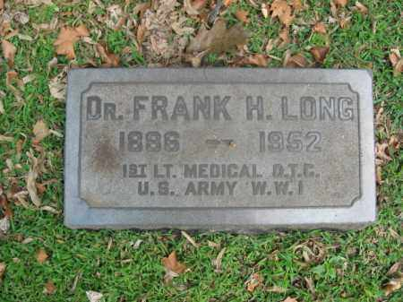 LONG, DR. FRANK H. - Northampton County, Pennsylvania | DR. FRANK H. LONG - Pennsylvania Gravestone Photos