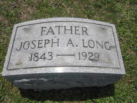 LONG, JOSEPH A. - Northampton County, Pennsylvania | JOSEPH A. LONG - Pennsylvania Gravestone Photos