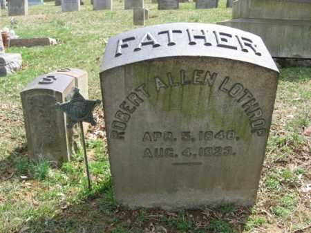 LOTHROP, ROBERT ALLEN - Northampton County, Pennsylvania   ROBERT ALLEN LOTHROP - Pennsylvania Gravestone Photos
