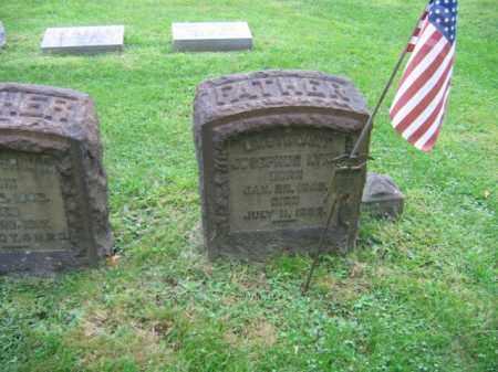 LYNN, LIEUT. JOSEPHUS - Northampton County, Pennsylvania | LIEUT. JOSEPHUS LYNN - Pennsylvania Gravestone Photos