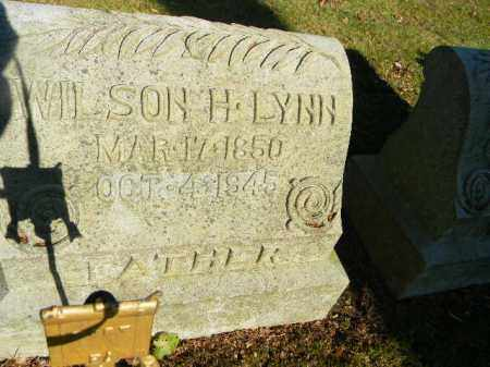 LYNN, WILSON H. - Northampton County, Pennsylvania   WILSON H. LYNN - Pennsylvania Gravestone Photos