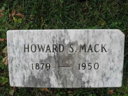 MACK, HOWARD S. - Northampton County, Pennsylvania | HOWARD S. MACK - Pennsylvania Gravestone Photos