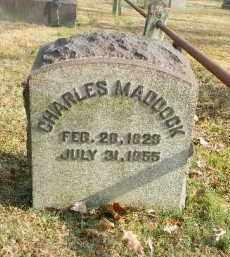 MADDOCK, CHARLES - Northampton County, Pennsylvania   CHARLES MADDOCK - Pennsylvania Gravestone Photos