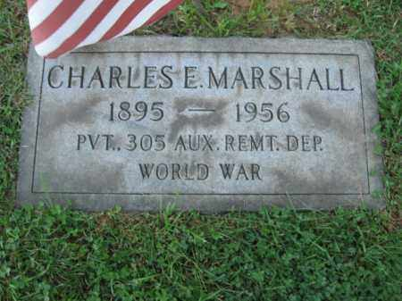 MARSHALL, CHARLES E. - Northampton County, Pennsylvania | CHARLES E. MARSHALL - Pennsylvania Gravestone Photos