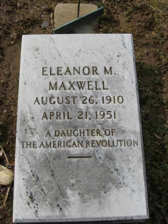 MAXWELL, ELEANOR M. - Northampton County, Pennsylvania | ELEANOR M. MAXWELL - Pennsylvania Gravestone Photos