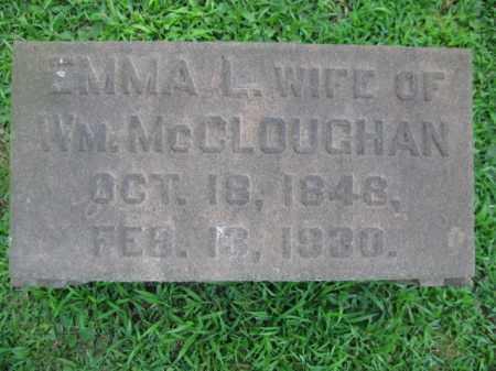 MCCLOUGHAN, EMMA L. - Northampton County, Pennsylvania | EMMA L. MCCLOUGHAN - Pennsylvania Gravestone Photos