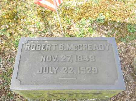 MCCREADY, ROBERT B. - Northampton County, Pennsylvania | ROBERT B. MCCREADY - Pennsylvania Gravestone Photos