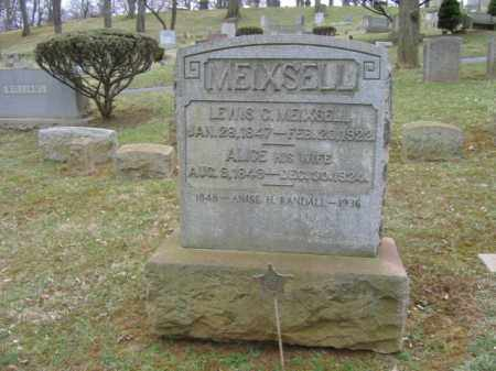 MEIXSELL, ALICE - Northampton County, Pennsylvania | ALICE MEIXSELL - Pennsylvania Gravestone Photos