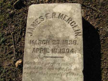 MERCEIN, JAMES F.R. - Northampton County, Pennsylvania | JAMES F.R. MERCEIN - Pennsylvania Gravestone Photos