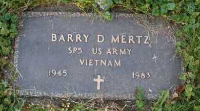 MERTZ (VN), BARRY D - Northampton County, Pennsylvania   BARRY D MERTZ (VN) - Pennsylvania Gravestone Photos