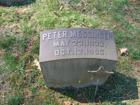 MESSINGER, PETER - Northampton County, Pennsylvania | PETER MESSINGER - Pennsylvania Gravestone Photos