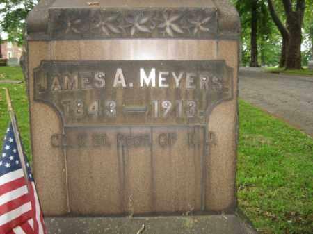 MEYERS (CW), JAMES A. - Northampton County, Pennsylvania | JAMES A. MEYERS (CW) - Pennsylvania Gravestone Photos