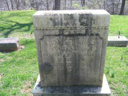 MICHLER, A.KIRKLAND - Northampton County, Pennsylvania | A.KIRKLAND MICHLER - Pennsylvania Gravestone Photos