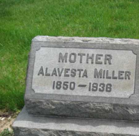 MILLER, ALVESTA - Northampton County, Pennsylvania | ALVESTA MILLER - Pennsylvania Gravestone Photos