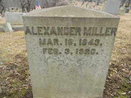 MILLER, ALEXANDER - Northampton County, Pennsylvania | ALEXANDER MILLER - Pennsylvania Gravestone Photos