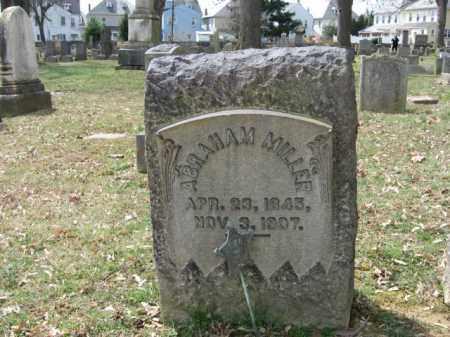 MILLER, ABRAHAM - Northampton County, Pennsylvania | ABRAHAM MILLER - Pennsylvania Gravestone Photos