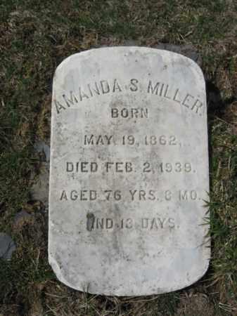 MILLER, AMANDA  S. - Northampton County, Pennsylvania   AMANDA  S. MILLER - Pennsylvania Gravestone Photos
