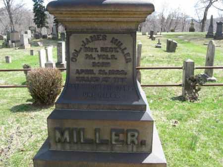 MILLER (CW), COLONEL JAMES - Northampton County, Pennsylvania   COLONEL JAMES MILLER (CW) - Pennsylvania Gravestone Photos