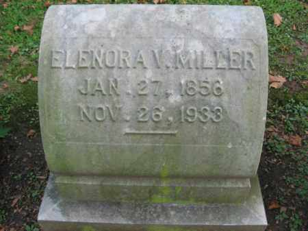 MILLER, ELENORA V. - Northampton County, Pennsylvania   ELENORA V. MILLER - Pennsylvania Gravestone Photos